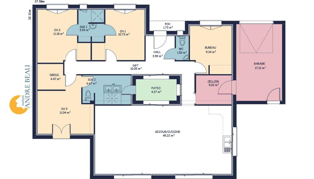 cap ferret maison moderne et atypiques. Black Bedroom Furniture Sets. Home Design Ideas