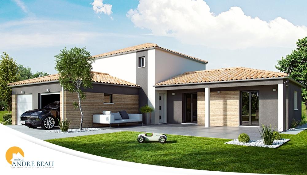 Plan et mod les de maisons maisons andre beau for Constructeur maison 33