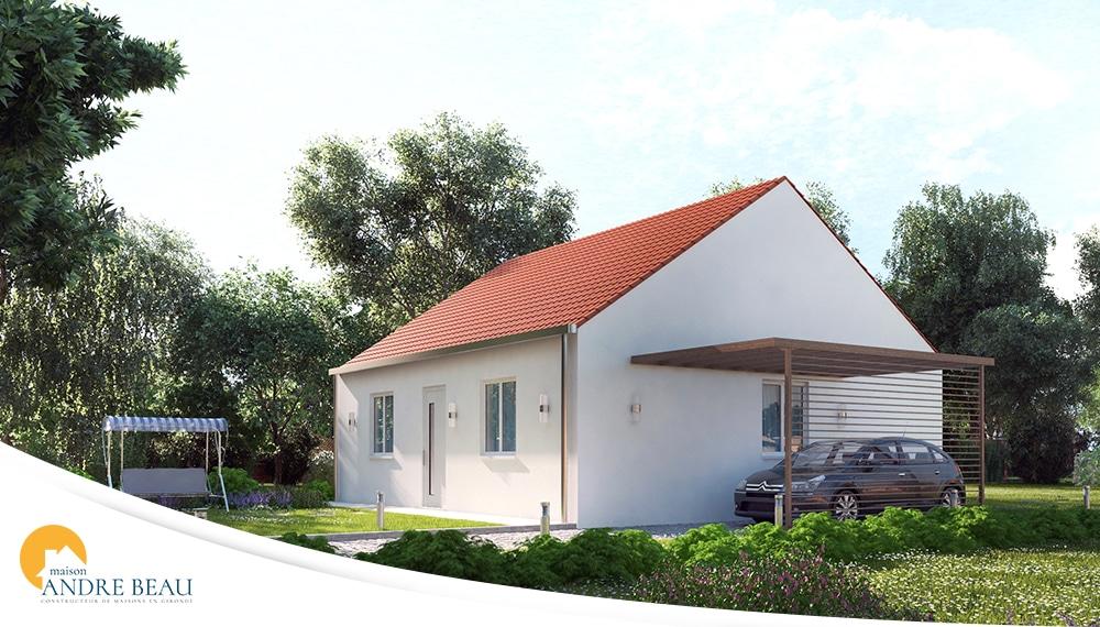 Plan et mod les de maisons maisons andre beau for Constructeur maison langon
