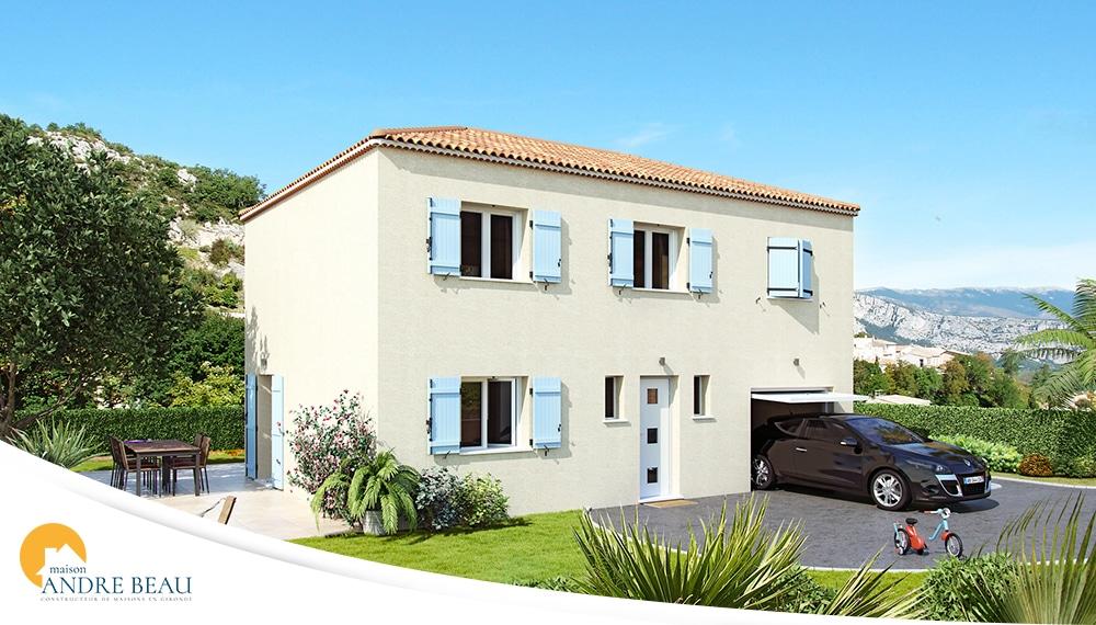 Plan et mod les de maisons maisons andre beau for Constructeur maison saint andre de cubzac