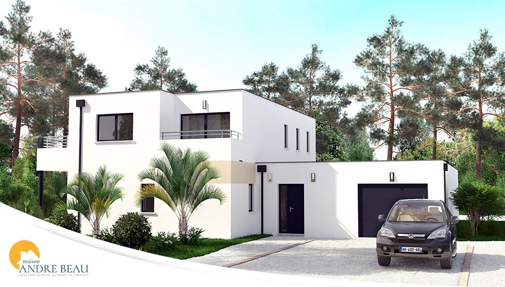 Plan et mod les de maisons maisons andre beau for Modele maison gironde
